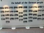 част от изложбата, посветена на депортацията на евреите
